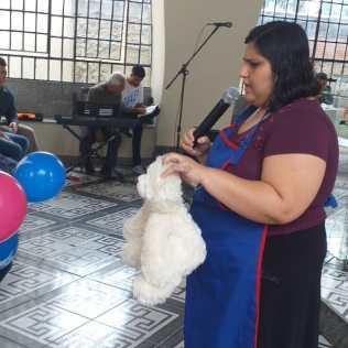 Tema apresentado a crianças em igreja de Santana do Pilar, Duque de Caxias (RJ)