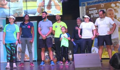 Equipe de corredores adventistas (Foto: Renata Paes)