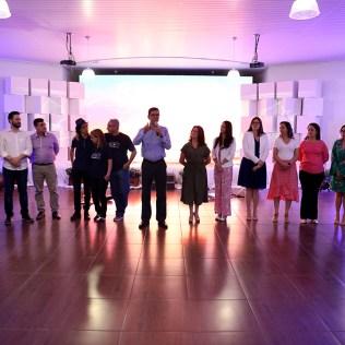 Administradores e organizadores do evento.