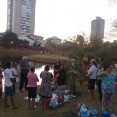 Parque Ipiranga, Anápolis, Pôr do Sol — Resgatando Vidas Goiás.