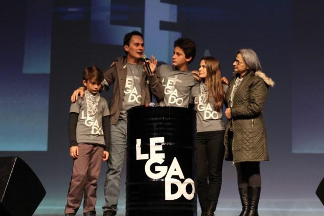 Pr. Tiago Fraga, organizador do evento, agradeceu a cada um dos participantes