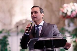 Pastor Arilton Oliveira. (Foto: Gustavo Cidral)