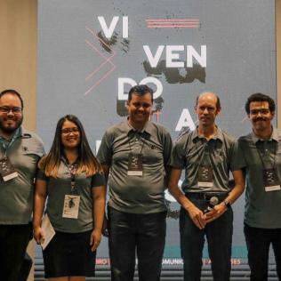 Equipes de Comunicação das Associações Espírito Santense e Sul Espírito Santense