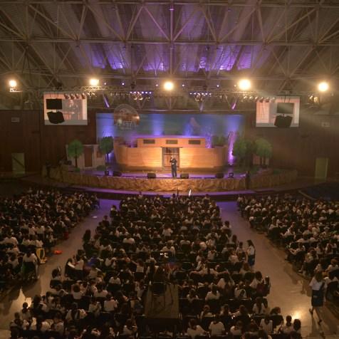 Mais de 1.500 pessoas participaram do evento (Foto: Elvis Natali)