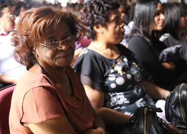 Mulheres de todas as idades compareceram ao Congresso. (Foto: Renata Paes)