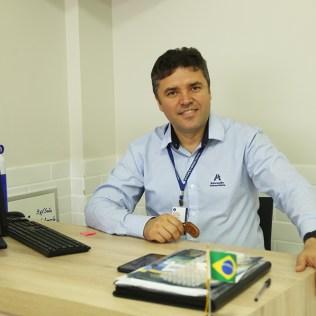 Professor Ozeias Batista, Líder da Educação Adventista, em Belo Horizonte.