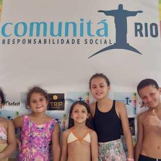 Dia das crianças no CATRE em Itaboraí.