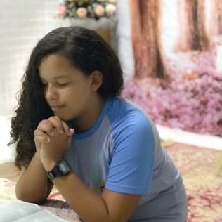 Aluna oração escola da serra