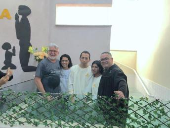 Batismos também ocorreram no programa Reencontro da Comunidade Hispana, zona leste paulista (Foto: Arquivo Pessoal).