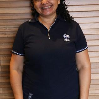 Laura Leandro, técnica em Secretaria Escolar, graduando em Serviço Social. Atua como Monitora na EAP. Está há 9 anos na Educação Adventista. (Foto: Renata Paes)