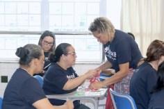 Professores voluntários ensinam ofícios aos participantes do SERVE 2020 (Foto: Lourinaldo Silva)