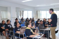 Workshops levaram aprendizado sobre diversas frentes de trabalho social aos participantes (Foto: Acervo APL)