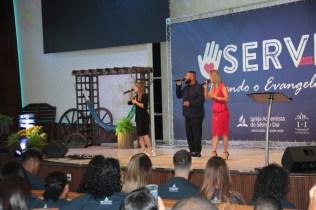 Art'Trio fez apresentações musicais durante o programa (Foto: Acervo APL)