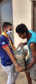 Doação de cestas básicas (Foto: Arquivo pessoal)