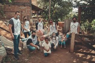 Voluntários do projeto (Foto: Silvio Couto)