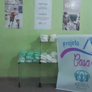 Por meio de parceria, Casa de Lió, núcleo da ADRA em Itabuna, entregou mais de 2 mil máscaras ao Hospital de Base Luis Eduardo Magalhães