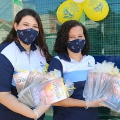 Professoras que idealizaram o projeto (Foto: Ana Paula Oliveira)