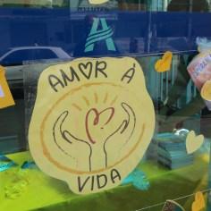 Escola cria projeto em prol do Setembro Amarelo (Foto: Ana Paula Oliveira)