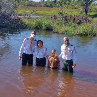 Os batismos têm sido a principal maneira de comemorar os 70 anos do Clube. (Foto: Arquivo da Igreja Adventista)