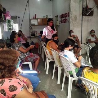 Além das orientações, as participantes do projeto tiveram acesso aos exames de Citologia e mamografia. (Foto: Divulgação)