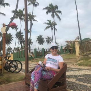 Uma das organizadoras do projeto, Marília Dantas. (Foto: Denise França)