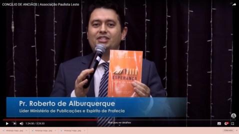 Apresentação do livro missionário de 2021 (Foto: divulgação).