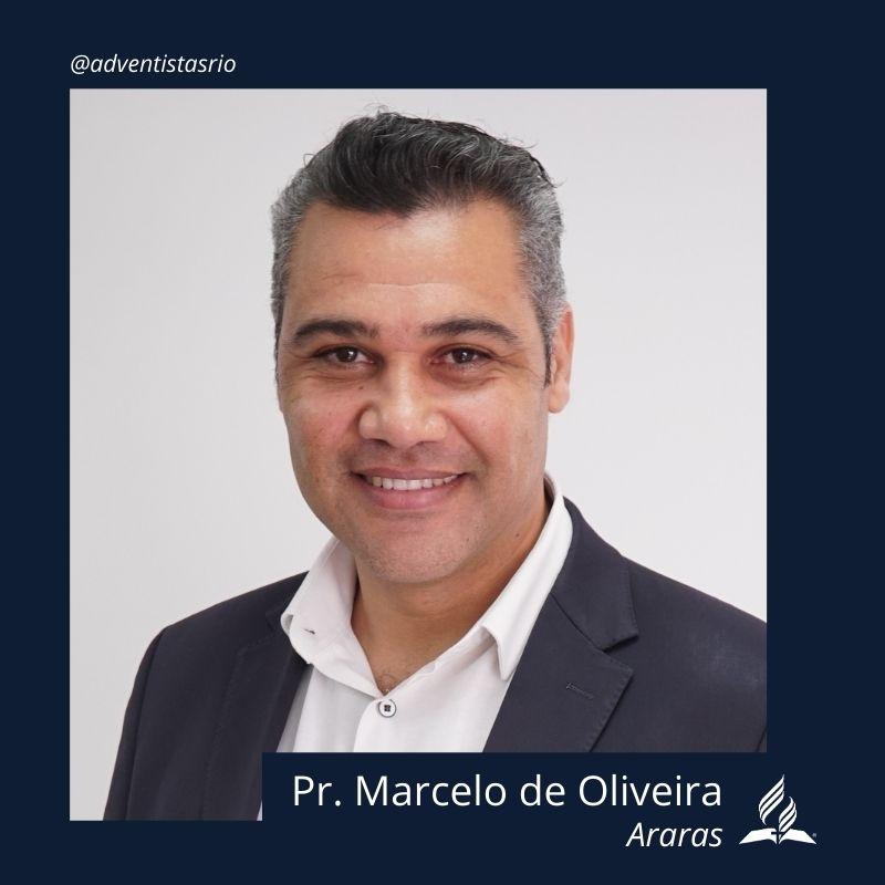 Distrito de Araras: Pr. Marcelo de Oliveira
