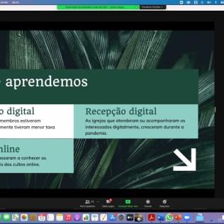 A palestra sobre Igreja Fidigital foi realizada por Carlos Magalhães. (Foto: Arquivo Pessoal)