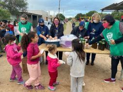 Ação de inauguração da ADRA - Rio Grande
