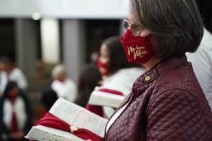 Cerimônia é o compromisso público com o ministério e a missão de levar a mensagem de Cristo (Foto: Edmilson Modesto)