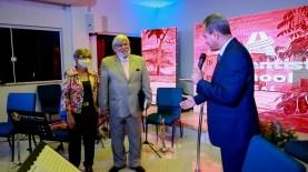 O prédio inaugurado, leva o nome do seu principal idealizador, o pastor Gustavo Schumann, que recebeu as homenagens durante o evento.