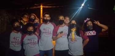 Alguns dos jovens adventistas que estiveram engajados na ação social. [Foto: Reprodução].