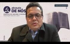 Pastor João Adilson, administrador financeiro da Associação Paulista Leste, mostrou os índices de crescimento financeiro da Igreja neste território (Foto: Reprodução).