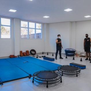 Estilo de vida saudável é estimulado em uma das oficinas promovidas pelos membros