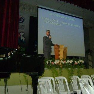 Treinamento de Rádio em Lima, Peru