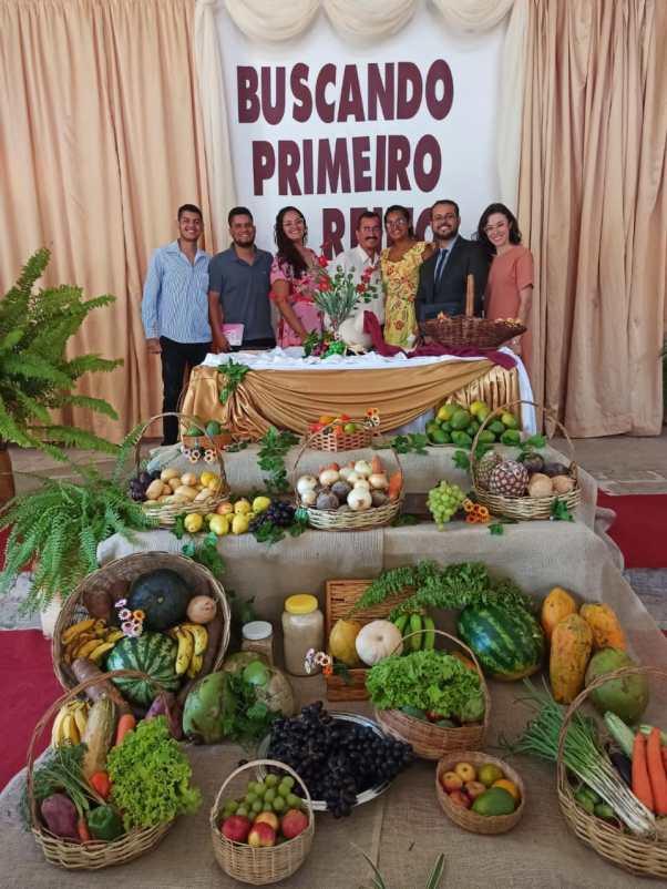 Festa das Primícias em Vila Nova (foto: Colaboração)
