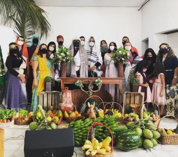 Festa das Primícias em Santa Maria da Vitória (foto: Colaboração)