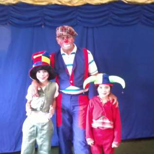 Família no circo. (Foto Arquivo Pessoal)