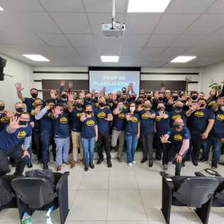 Equipe de líderes da ANSR