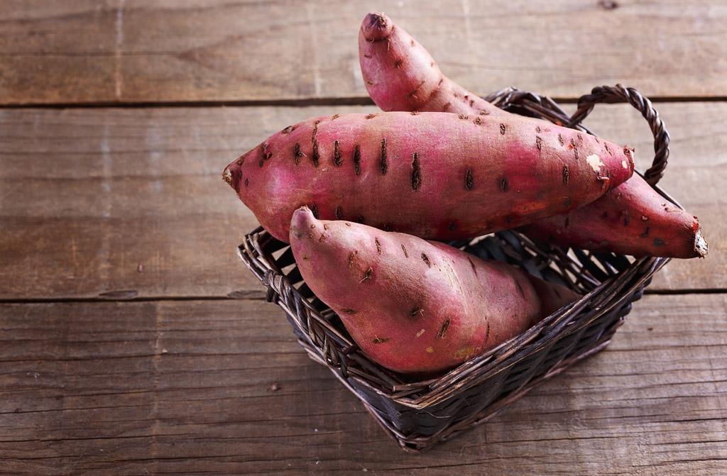 benefícios da batata doce