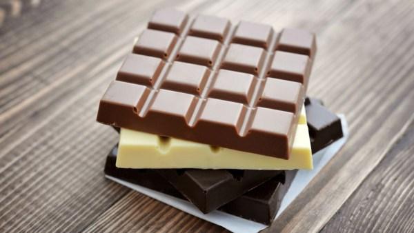 Os 3 tipos de chocolate mais usados e consumidos no mundo