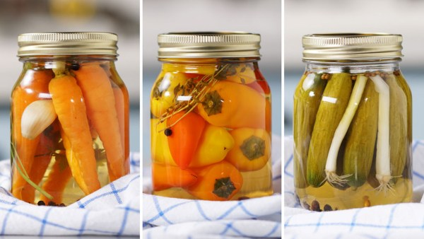Picles é uma conserva em vinagre que pode conter vários vegetais