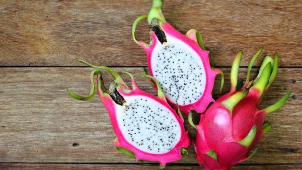 Pitaya branca, fruta exótica, é cada vez mais querida pelos brasileiros