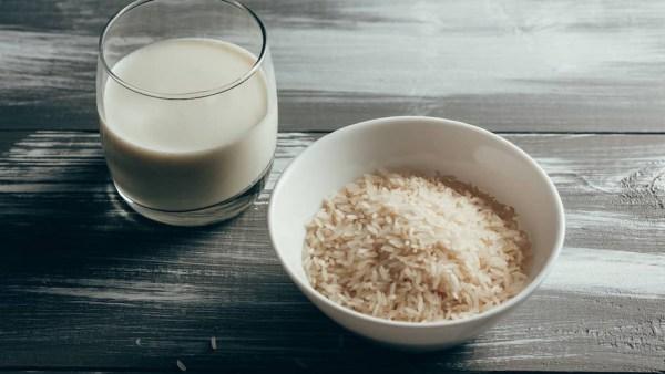 Leite de arroz é ideal para quem é intolerante a lactose