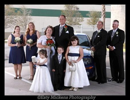 Cox Wedding Party