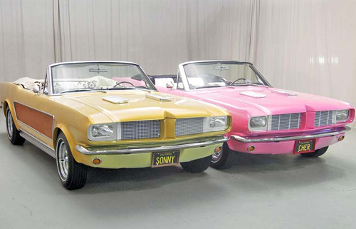 Sunny and Cher Stang: Front