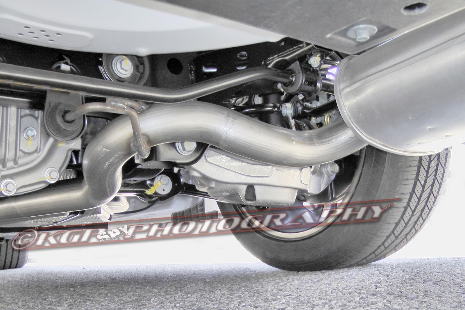 2015 Ford Mustang Spy Photos - IRS (Independent Rear Suspension)