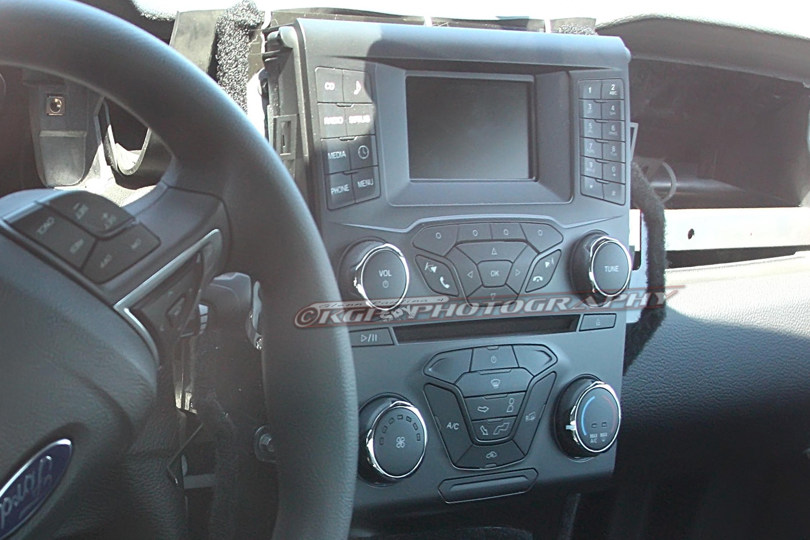 2015 Ford Mustang Spy Photos - Interior
