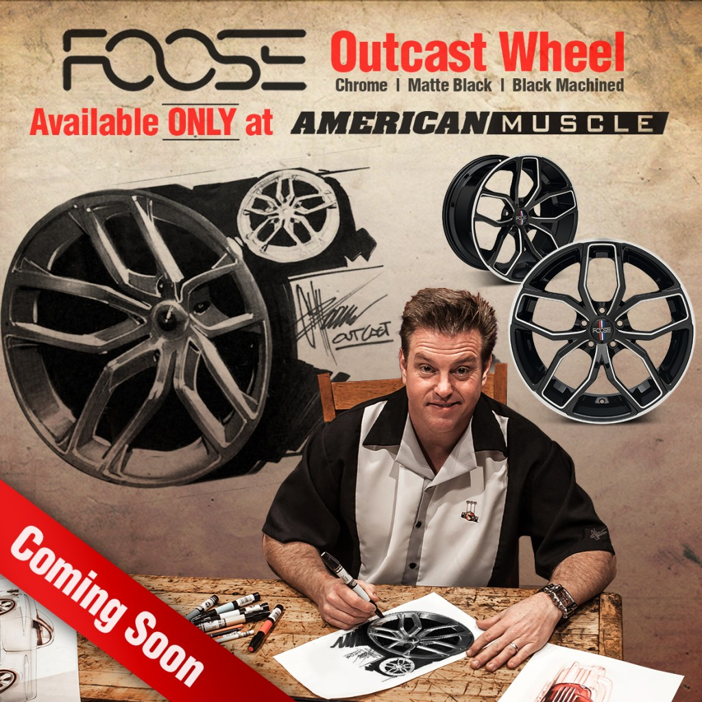 Chip Foose Designed Outcast Wheels