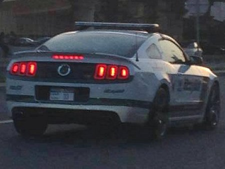 Rouch Ford Mustang for Dubai's Police Force